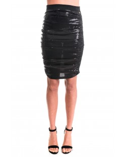 SEQUIN DRAPED SKIRT 82RPT676