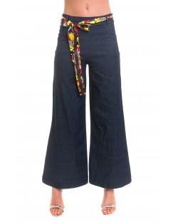 PALAZZO TROUSERS WITH SASH 91MPT820