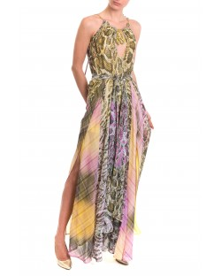 LONG DRESS WITH JEWEL 91RPT615