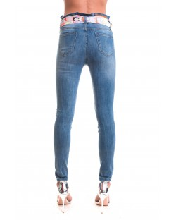 JEANS WITH SASH 91SPT423