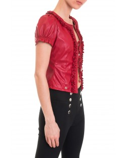 JACKET WITH FLOUNCES 91XPT921