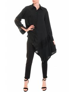 PLUS SIZE ASYMMETRIC SHIRT 92RPT684