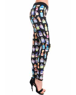 SLIM-FIT PRINTED TROUSERS 92RPT696