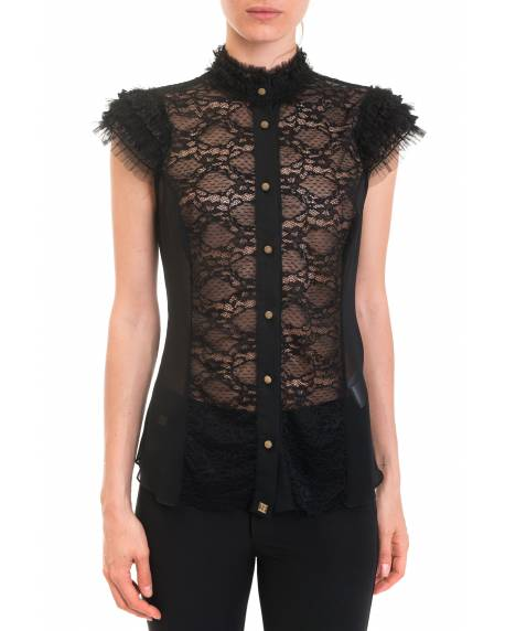 SHIRT WITH PUFFY SLEEVES 92XPT905
