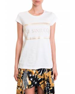 LOGOED T-SHIRT WITH STUDS 92BPT733