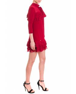 DRESS WITH BOW ON THE SHOULDER 92RPT611