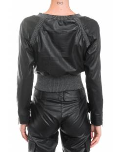ECO-LEATHER BOMBER JACKET 92BPT735