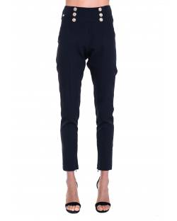 CIGARETTE TROUSERS WITH BUTTONS 01XPT933