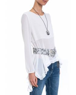 BLOUSE WITH BELT 01NPT223