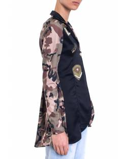 MILITARY JACKET WITH PATCH 01SPT400