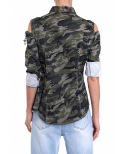 MILITARY SHIRT WITH PATCH 01SPT412