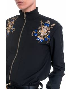 EMBROIDERED BOMBER JACKET 01XPT941