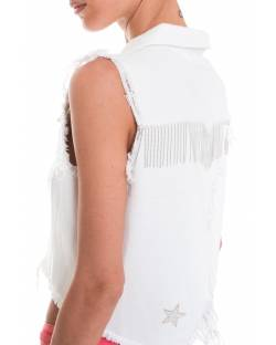 GILET MILITARY STRASS 01CPT524