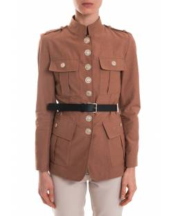 MILITARY JACKET WITH BELT 01GPT101