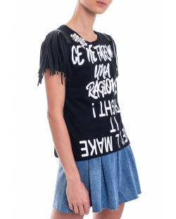 T-SHIRT WITH FRINGES 01SPT408