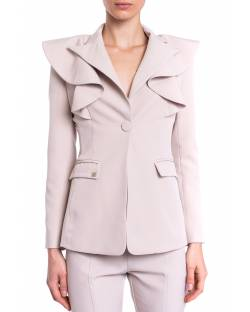 JACKET WITH ROUCHES 01XPT935