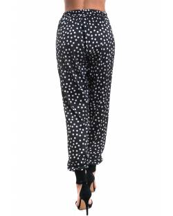TROUSER IN A VARIOUS PATTERN WITH ELASTIC IN THE BOTTOM 02RPT621