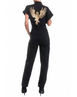 SUIT WITH EMBROIDERED AND CUSTOM PATCH IN THE BACK 02XPT924