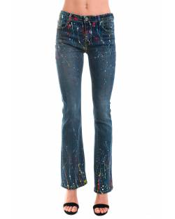 BELL-SHAPED JEANS LIMITED EDITION 02GPT101