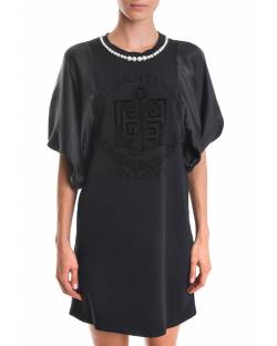 DRESS WITH TONE-ON-TONE LOGO 02CPT533