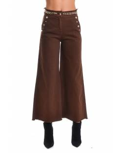 CROPPED JEANS WITH JEWELRY APPLICATIONS 02CPT552