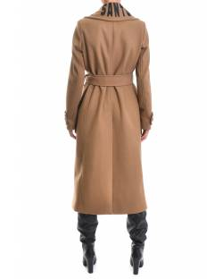 LONG COAT WITH LOGO 02XPT927