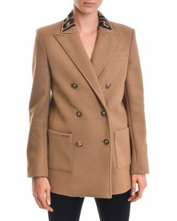 LOGO JACKET WITH DOUBLE-BREASTED CLOSURE 02XPT928