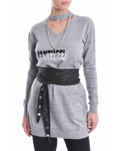 LOGO DRESS WITH NECKLACE 02NPT217