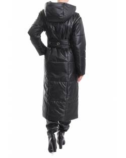 LONG DOWN JACKET WITH OPENING SLEEVES AND HOOD 02RPT633