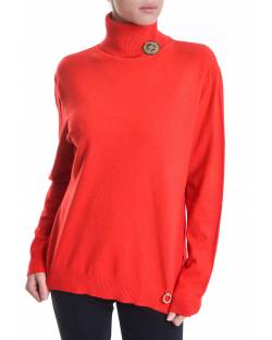 HIGH NECK SWEATER WITH LOGO PATCH APPLICATION 02SPT420