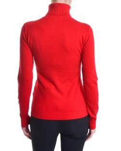 HIGH NECK SWEATER WITH EMBROIDERED LOGO 02SPT436
