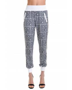LETTERING PRINT TROUSERS 11RPT602