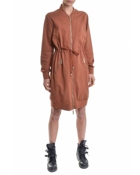 TRENCH COAT WITH EMBROIDERED LOGO ON THE BACK 11BPT707