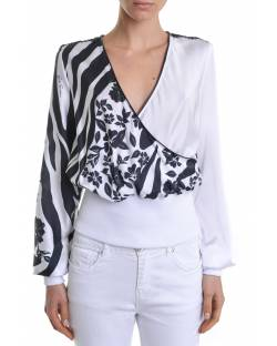 BLOUSE IN SATIN WITH ELASTICATED WAIST 11RPT611