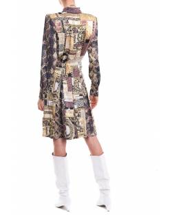 PRINTED DRESS WITH LOGO BUTTONS 11BPT724