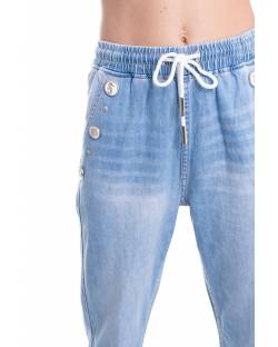 JEANS WITH JEWEL ENAMELED BUTTONS 11CPT519