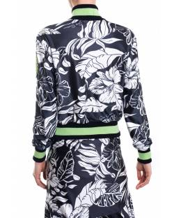 PRINTED BOMBER WITH CONTRASTING LOGO 11GPT103