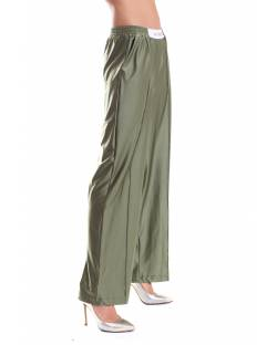 TROUSERS IN SATIN EFFECT JERSEY 11XPT932