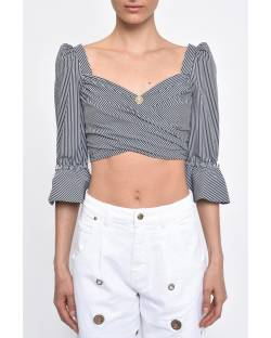 TOP CROPPED STRIPED 11RPT638