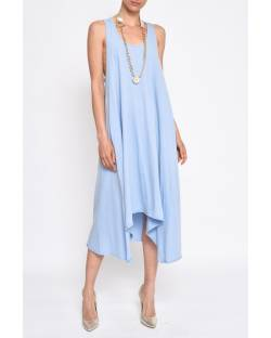 COTTON DRESS WITH NECKLACE 11CPT575