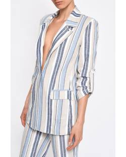 STRIPED JACKET 11XPT944
