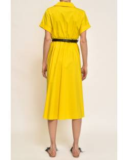 DRESS WITH DECORATED BELT 11CPT823