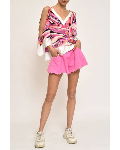 SHORTS WITH BELT 11CPT825