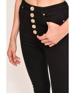 SKINNY JEANS WITH BUTTONS AND PATCHES 12CPT508