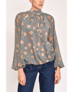 GOLD COIN PATTERNED SHIRT 12XPT914