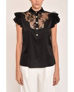 SHIRT WITH LACE INSERTS 12RPT613